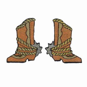 Western Cowboy Boot Western Patches