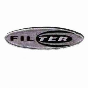 Filter Logo Iron on Rock n Roll Band Patch Applique