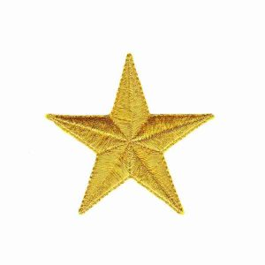 Gold-Star-Patches-Iron-on-Patches