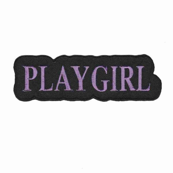 PLAYGIRL Iron On Patch