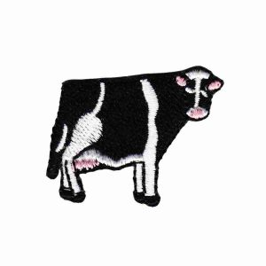 Cows - Tiny Cow Iron On Farm Animal Patch Applique