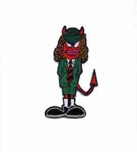 Angus Young AC/DC Devil Suit Patch