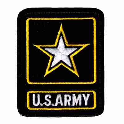 U.S. Army 'ARMY OF ONE' Iron On Military Patch