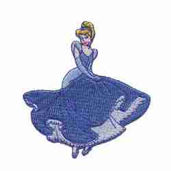 Disney Princess Cinderella Iron On Applique