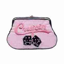 "Purses - ""Cruisin"" Coin Purse Iron On Applique"