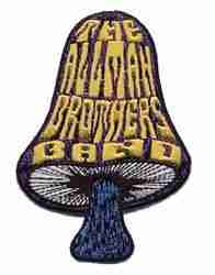 The Allman Brothers Rock Band Iron on Patch