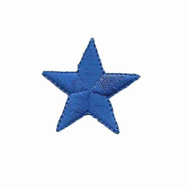 royal-blue-star-patches-Iron-On-Stars