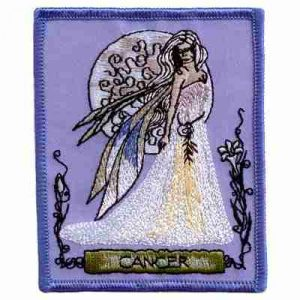 Jessica Galbreth Zodiac Cancer Sign Patch Applique