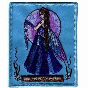 Jessica Galbreth's Aquarius Zodiac Patch Applique