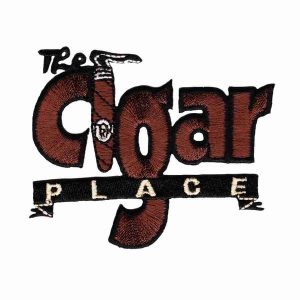 Smoking - The Cigar Place Iron on Pacth