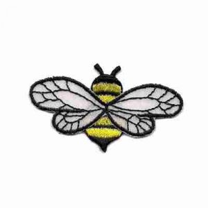 Bee - Chiffon Wing (Large) Iron on Patch Applique