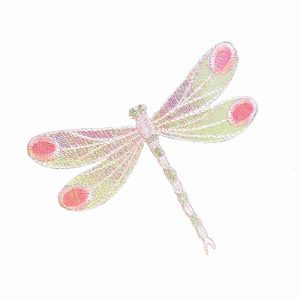 Pink-Iridescent-Dragonfly-Iron-on-Patch