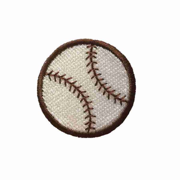 Baseball - Iron On Baseball Sports Patch Applique
