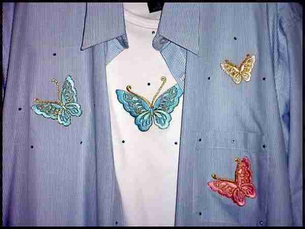 Sample 2 - Butterfly Top - NOT FOR SALE