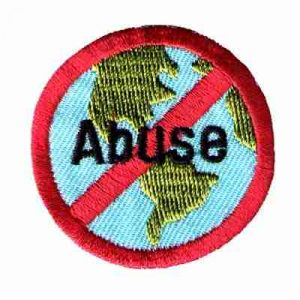 Stop Environmental Abuse Iron On Patch Applique