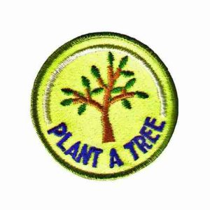 Plant A Tree Iron On Ecology Environmental Patch Applique