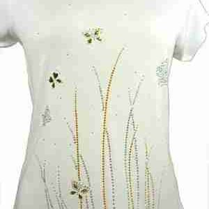 Sample 19 - Tall Reed Grasses on White Top - NOT FOR SALE