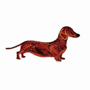 Dogs - Dachshund Dog Iron On Pet Patch Applique