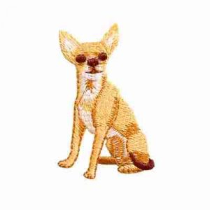 Dogs - Chihuahua Iron On Dog Patch Applique