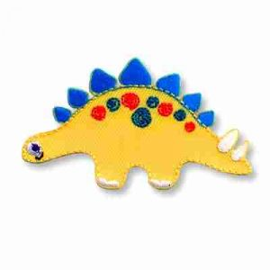 Cute Stegosaurus Embroidered Children's Patch Applique