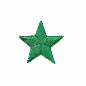 Greeen-Star-Patches-Iron-on-stars