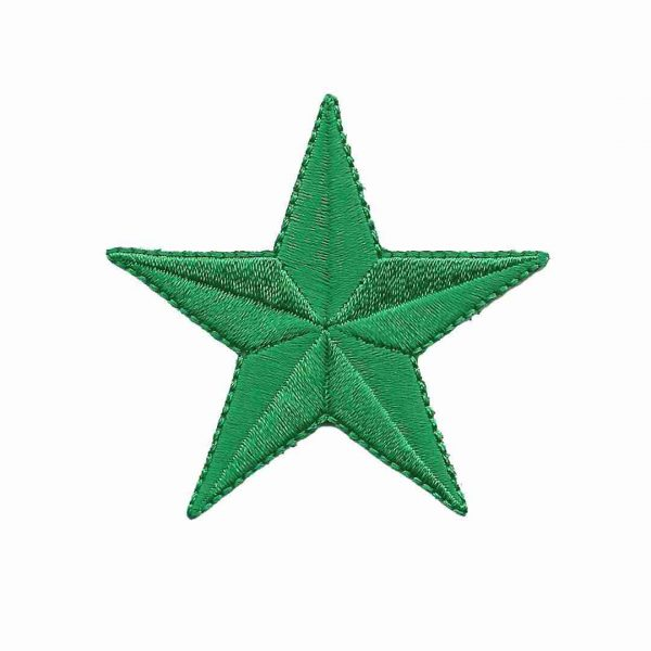 green-star-patches-iron-on-stars