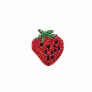 Fruit - Strawberry - Strawberry Iron On Patch Applique Medium si