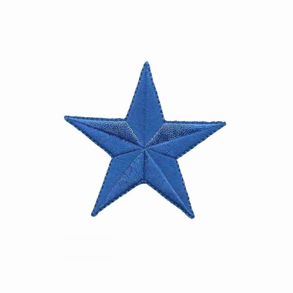2 Inch Royal Blue Star Patches