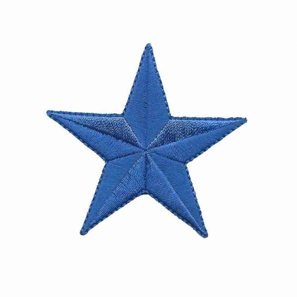 royal-blue-star-patches-iron-on-patch