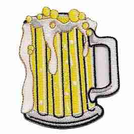 Spirits - Frothing Beer Mug Iron on Patch