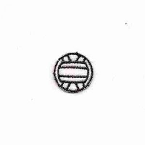 Volleyball - Small Volleyball Iron On Sports Patch Applique