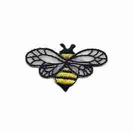 Bee - Chiffon Wing (Small) Iron on Patch Applique