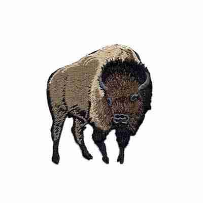Buffalo Bison Iron on Patch Applique