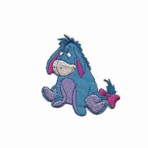 Winnie the Pooh's beloved Eeyore Iron on Patch