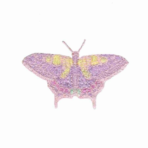 Tiny Pastel Butterfly Iron on Applique