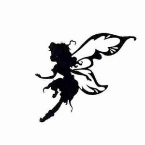 Disney Fairie Prilla Silhouette cut out Iron on