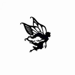 Disney Fairie Rani Silhouette cut out Iron on