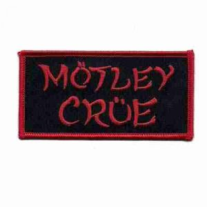 Motley Crue Iron on Patch Applique