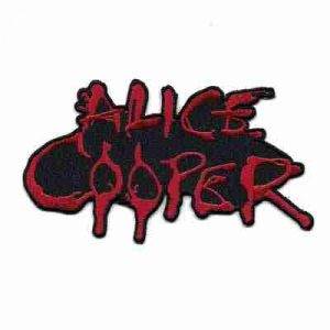 Alice Cooper Iron on Patch Applique