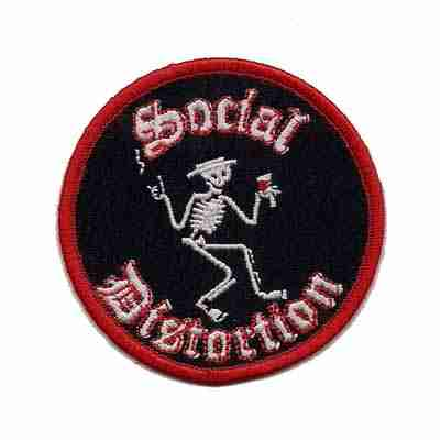 Social Distortion Iron on Patch Applique