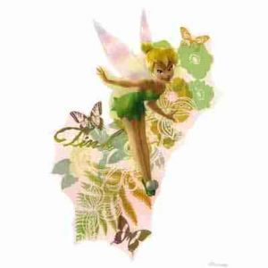 Large Disney Tinkerbell Iron on Transfer