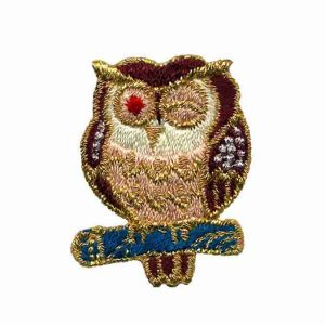 Owl-Iron-On-Patch-Applique