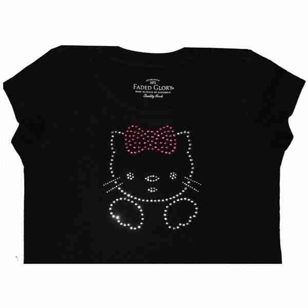 Sample 1 - Hello Kitty Rhinestone Girls Shirt