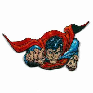 Iron on Superman Patch Applique