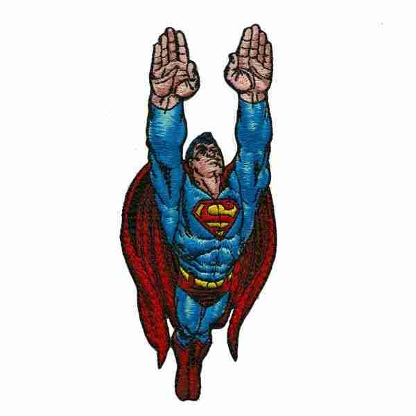 Iron on Superman Patch Applique
