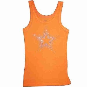 Girls Rhinestone Tank Top Starburst