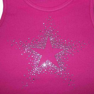 Rhinestone Tank Tops for girls