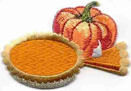 Thanksgiving Pumpkin Pie and Pumkpin Patch