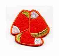 Candy Corn Patch Applique