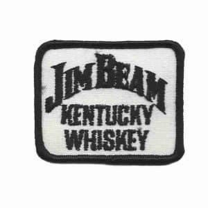 Jim Beam Kentucky Whiskey Logo Patch